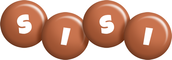 Sisi candy-brown logo