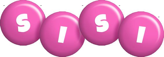 Sisi candy-pink logo