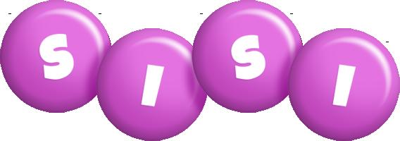 Sisi candy-purple logo