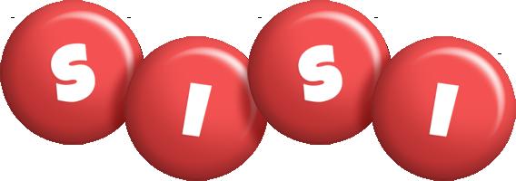 Sisi candy-red logo