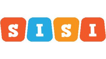 Sisi comics logo