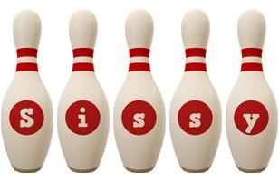Sissy bowling-pin logo