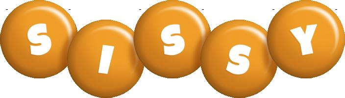 Sissy candy-orange logo