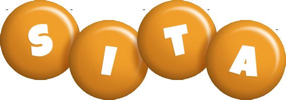 Sita candy-orange logo