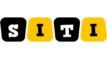 Siti boots logo