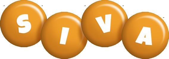 Siva candy-orange logo