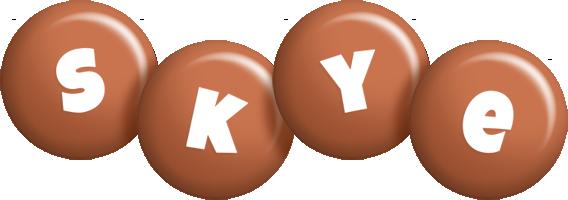 Skye candy-brown logo