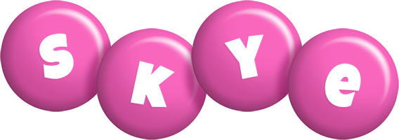Skye candy-pink logo