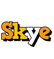 Skye cartoon logo