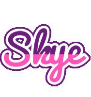 Skye cheerful logo