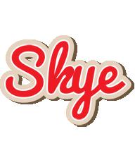 Skye chocolate logo