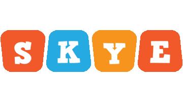 Skye comics logo
