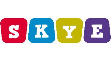 Skye daycare logo
