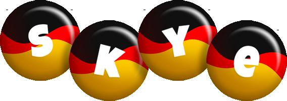 Skye german logo