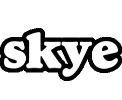 Skye panda logo