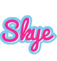 Skye popstar logo