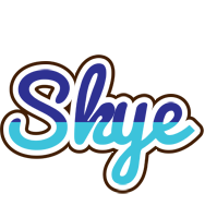 Skye raining logo