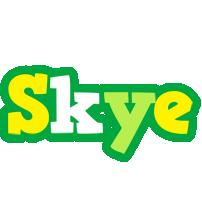Skye soccer logo