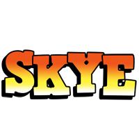 Skye sunset logo