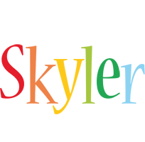Skyler birthday logo