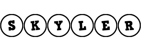 Skyler handy logo