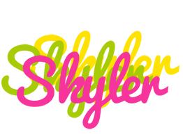 Skyler sweets logo