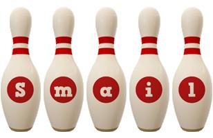 Smail bowling-pin logo
