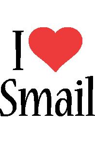 Smail i-love logo