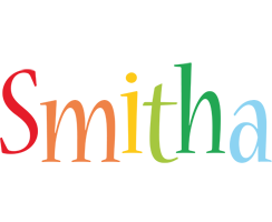 Smitha birthday logo