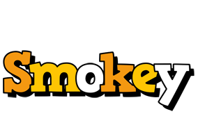 Smokey cartoon logo