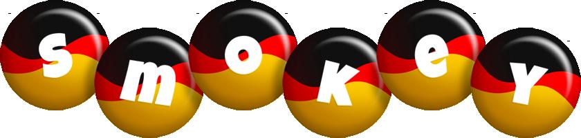Smokey german logo