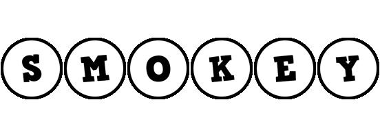Smokey handy logo