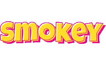 Smokey kaboom logo