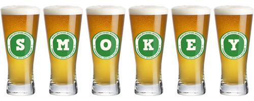 Smokey lager logo