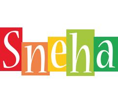 Sneha colors logo