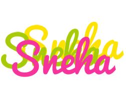 Sneha sweets logo