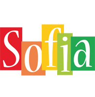 Sofia colors logo