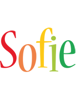Sofie birthday logo