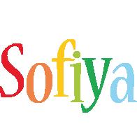 Sofiya birthday logo