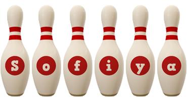 Sofiya bowling-pin logo