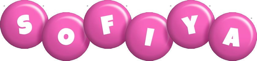 Sofiya candy-pink logo
