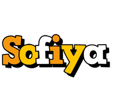 Sofiya cartoon logo