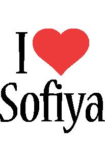 Sofiya i-love logo