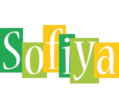 Sofiya lemonade logo