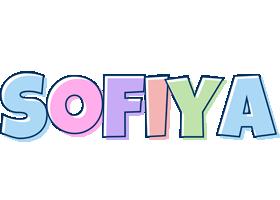 Sofiya pastel logo