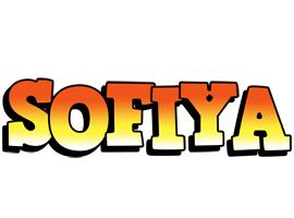Sofiya sunset logo