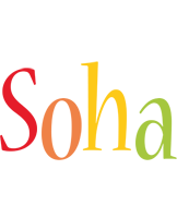Soha birthday logo