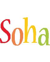 Soha birthday logo