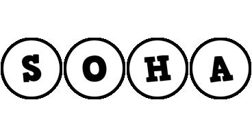 Soha handy logo