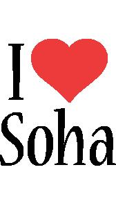 Soha i-love logo